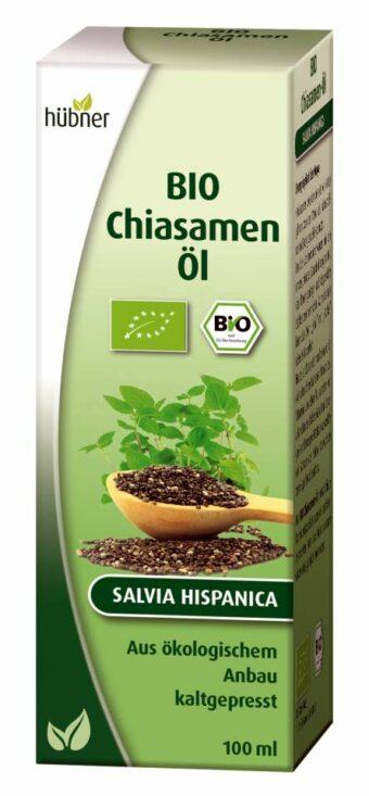 Bio Chiasamen-Öl 100ml-Packung