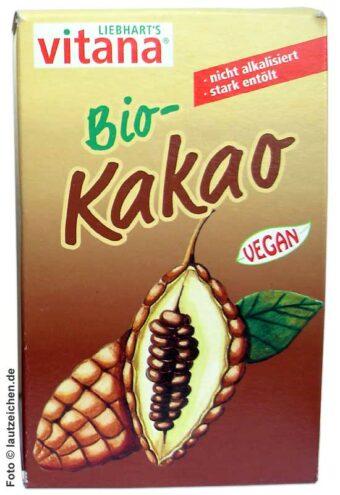 Bio-Kakao 100g-Packung
