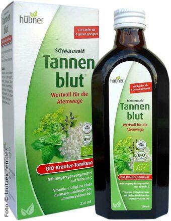 Tannenblut Bio-Kräuter-Tonikum 250ml-Flasche