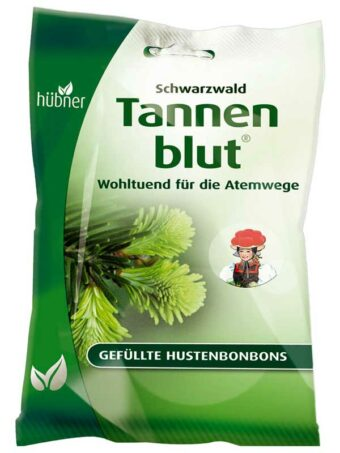 Tannenblut Hustenbonbons gefüllt 71g-Tüte