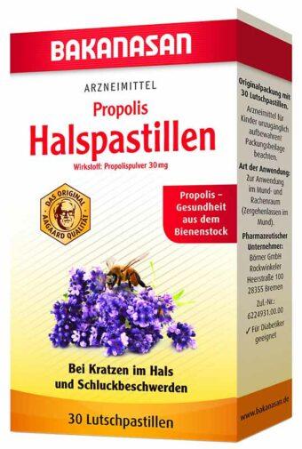 Propolis Halspastillen 30Stück-Packung