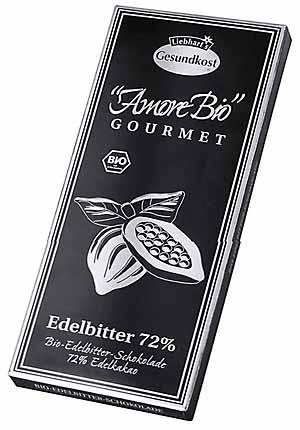 Edelbitter-Schokolade 100g-Tafel