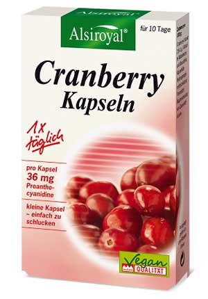 Cranberry-Kapseln 10Stück-Packung