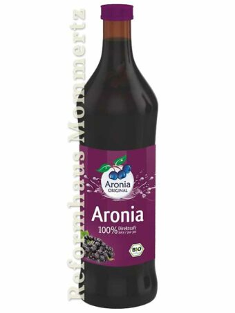 Bio-Aroniasaft 700ml-Flasche