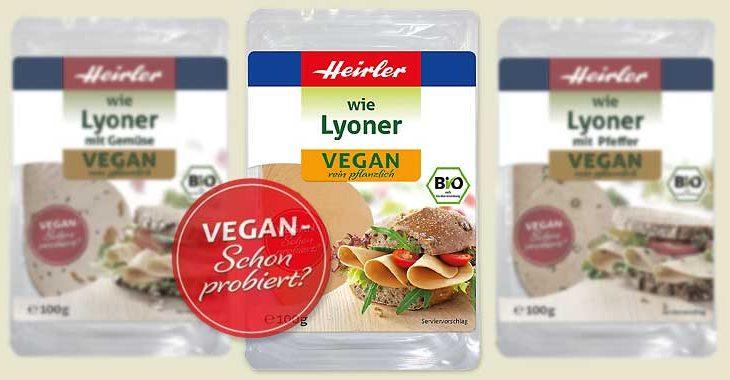 """veganer Brotbelag """"wie Lyoner"""""""