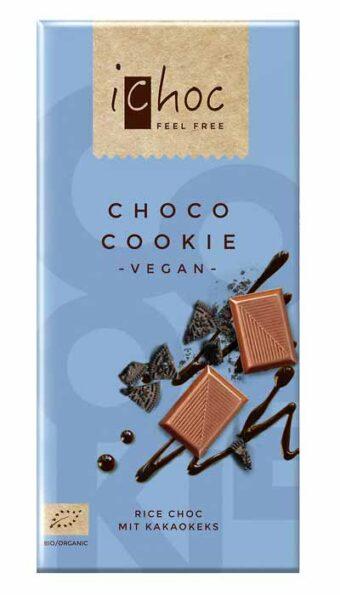 "Rice Choc ""Choco Cookie"" 80g-Tafel"