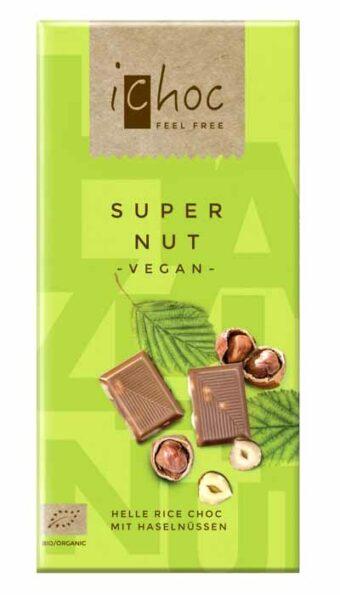 """Rice Choc """"Super Nut"""" 80g-Tafel"""