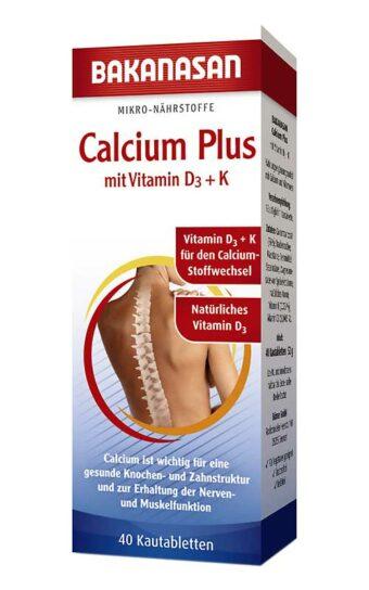 Calcium Plus (40 Kautabletten)