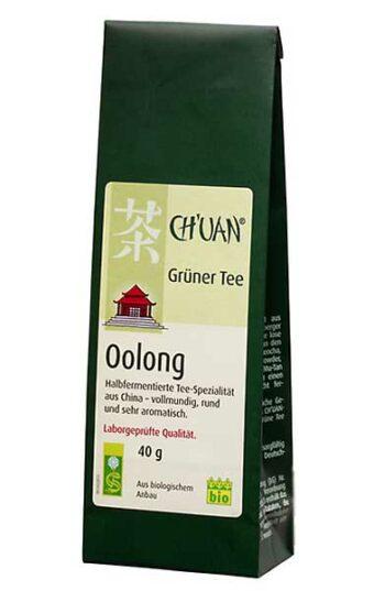 Grüner Tee Oolong 40g-Packung