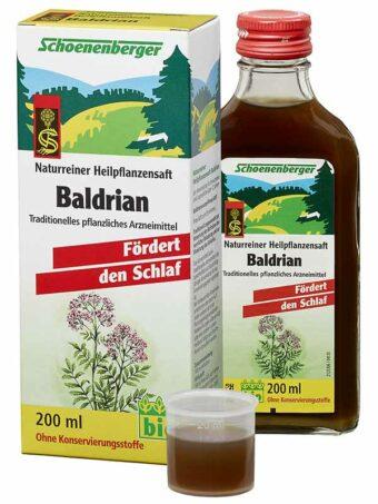 Heilpflanzensaft Baldrian 200ml-Flasche