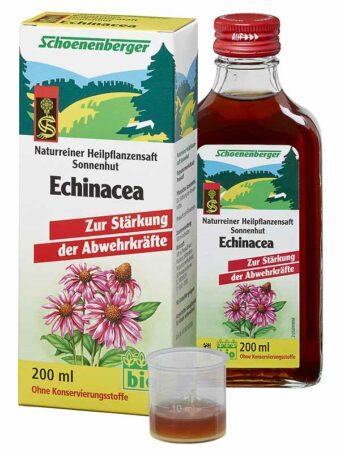 Pflanzensaft Echinacea 200ml-Flasche