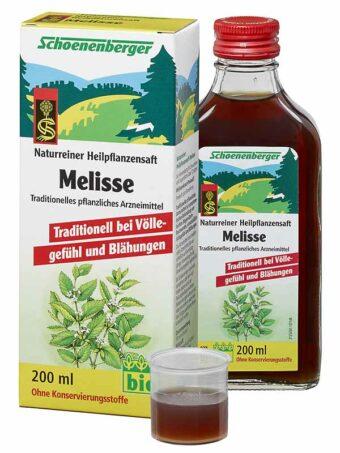 Pflanzensaft Melisse 200ml-Flasche