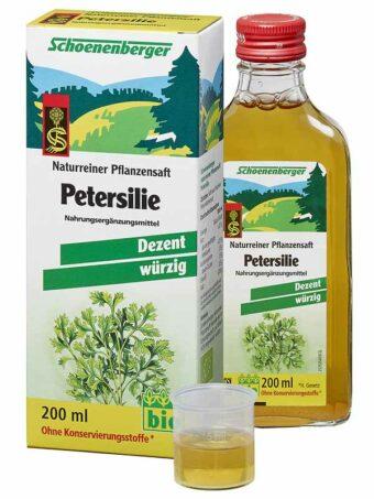 Petersiliensaft 200ml-Flasche