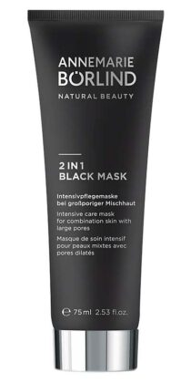 2 in 1 Black Mask 75ml-Tube