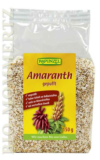 gepuffter Amaranth 150g-Packung