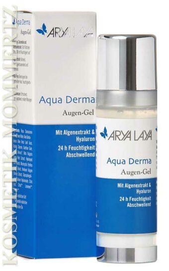 Aqua Derma Augen-Gel 30ml-Spenderflasche