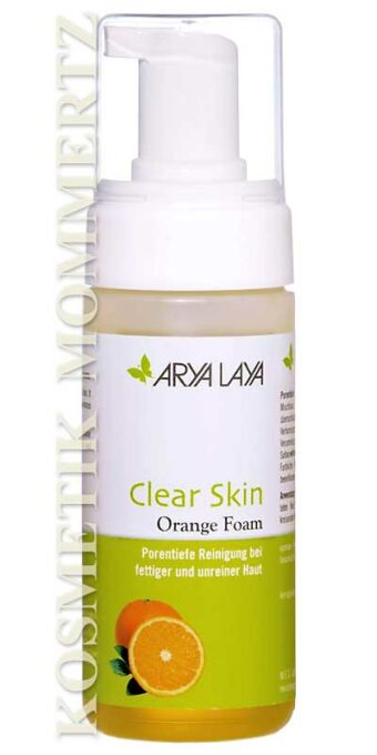 Clear Skin Orange Foam 125ml-Spender