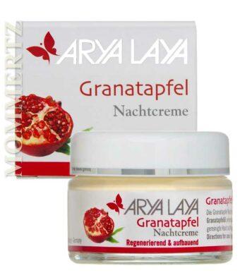 Granatapfel Nachtcreme 50ml-Tiegel