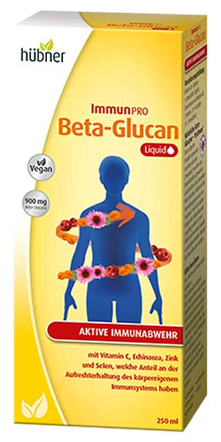 Beta-Glucan Liquid 250ml-Flasche