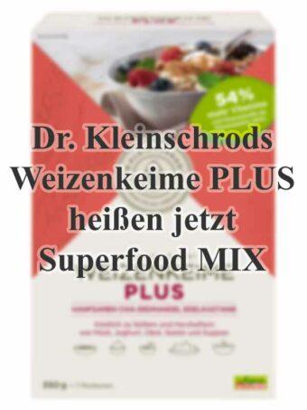 Umbenennung Kleinschrods Weizenkeime - Superfood