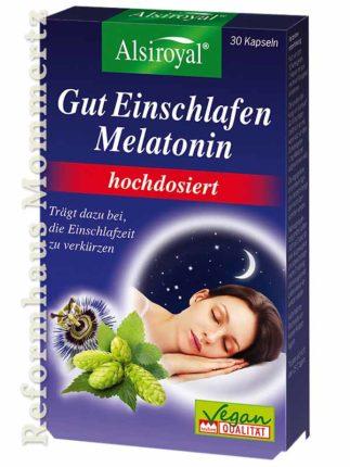 Alsiroyal Gut Einschlafen Melatonin hochdosiert