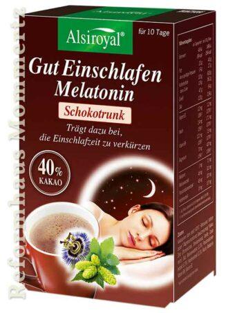 Gut Einschlafen Melatonin Schokotrunk (10 Portionen)