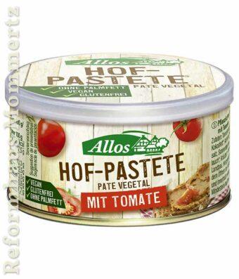 Allos Hofpastete Tomate 125g-Dose
