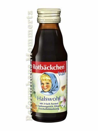 Rotbäckchen Halswohl 125ml-Flasche