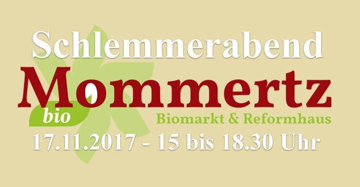 Reformhaus-Schlemmerabend 17.11.2017
