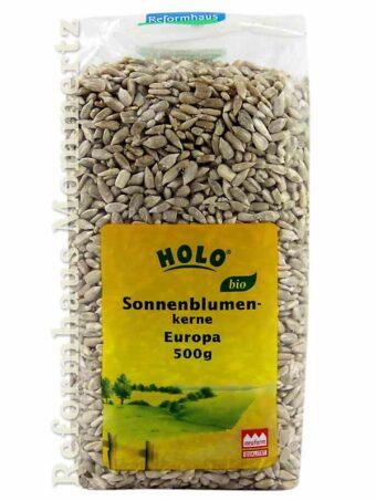 Holo Sonnenblumenkerne Europa 500g-Packung