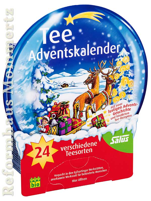 Weihnachtskalender Tee.Tee Adventskalender