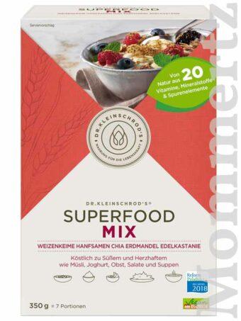 Dr. Kleinschrods Superfood Mix 350g-Packung